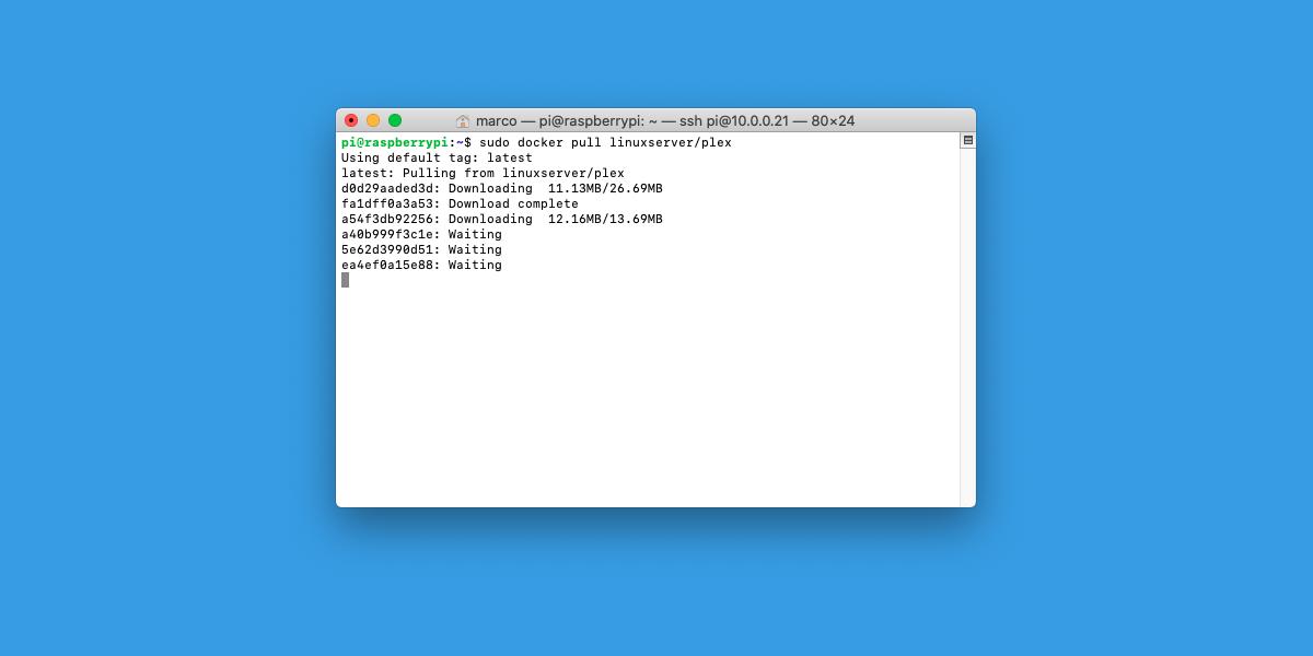 Come installare Plex su Docker
