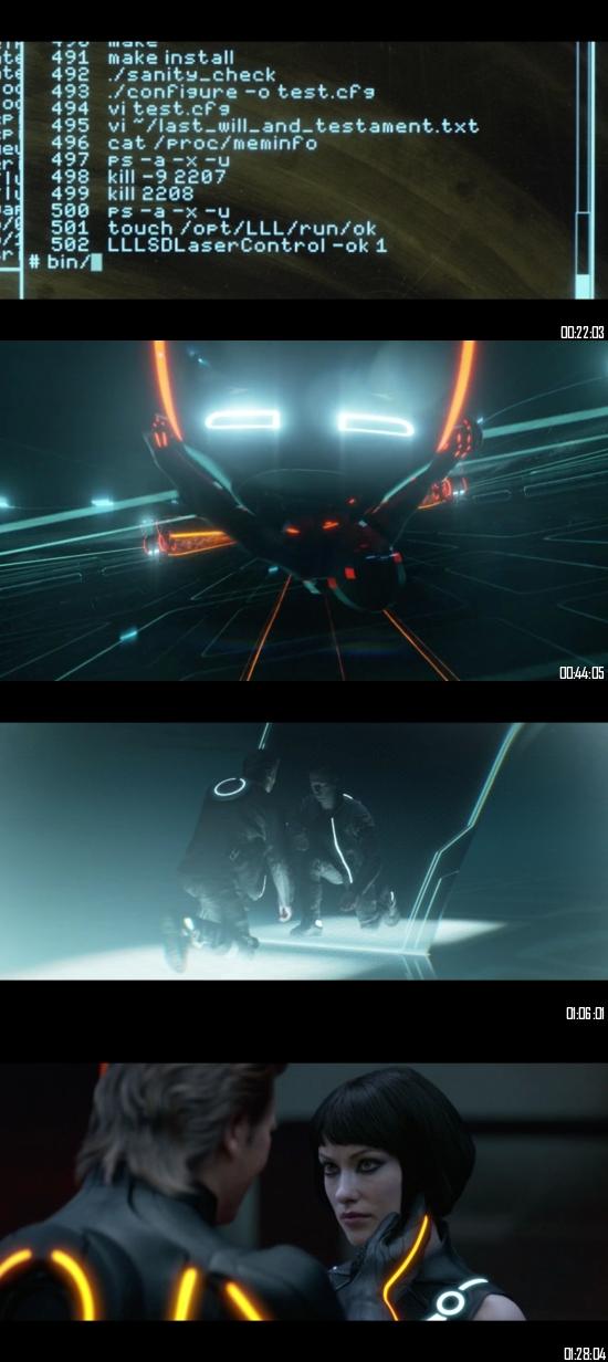 Tron Legacy 2010 BRRip 720p 480p Dual Audio Hindi English Full Movie Download