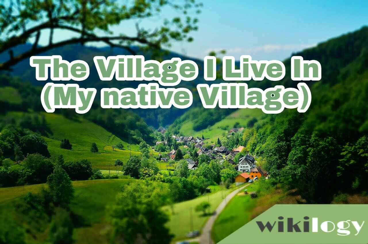 My Native Village essay composition, The Village I Live In
