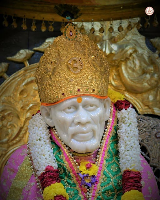sai baba good morning marathi image