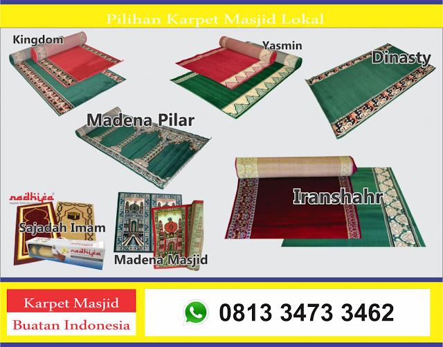 Pilihan Karpet Masjid Lokal