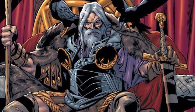 Mengenal Odin, Raja Para Dewa Asgard dari Marvel Comics, siapa odin adalah