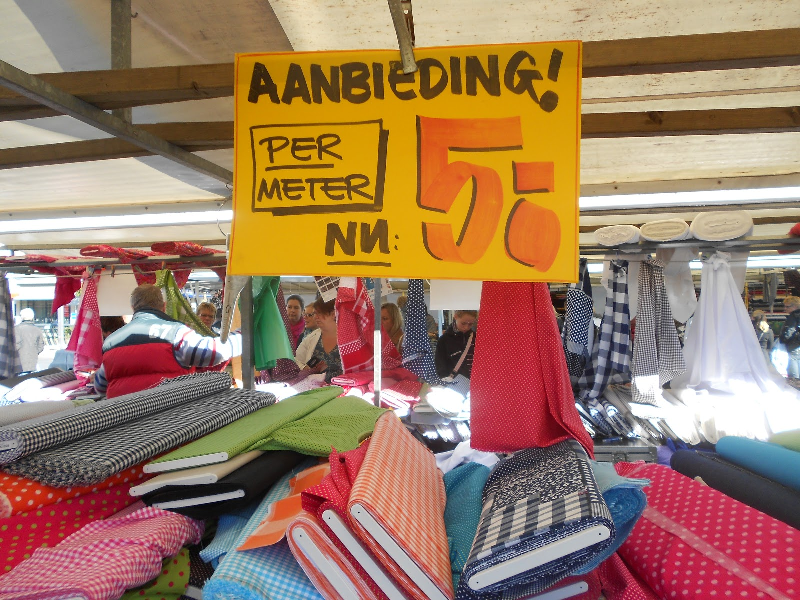 incredible prices recognized brands official dieter759: Stoffmarkt in Venlo (2)