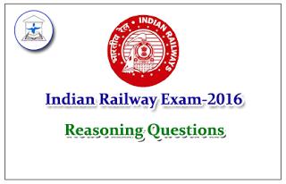 Railway Exam 2016 – Reasoning (Word Formation) Questions