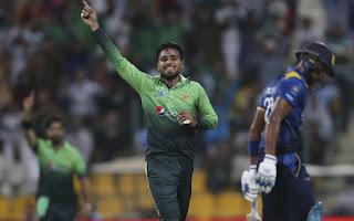 Faheem Ashraf T20I Hat-trick Highlights