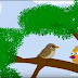 Hungry Bird - Moral story - Hindi Kahaniya