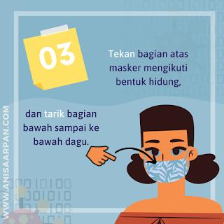 Tips Memakai Masker
