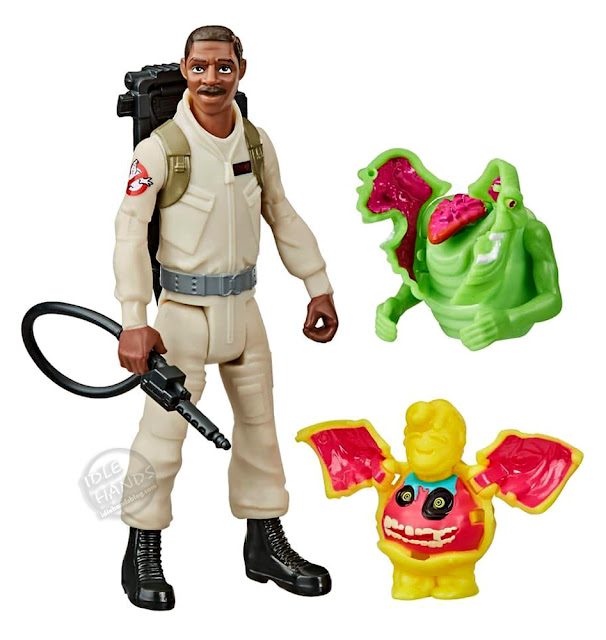 Toy Fair 2020 Hasbro Ghostbusters Fright Feature Winston Zeddemor  Action Figure