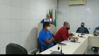 O vereador Tô Justo do MDB em sua fala na Câmara  Municipal de Pilõezinhos fala da importância do aluguel social e destaca eficiência da gestão Municipal