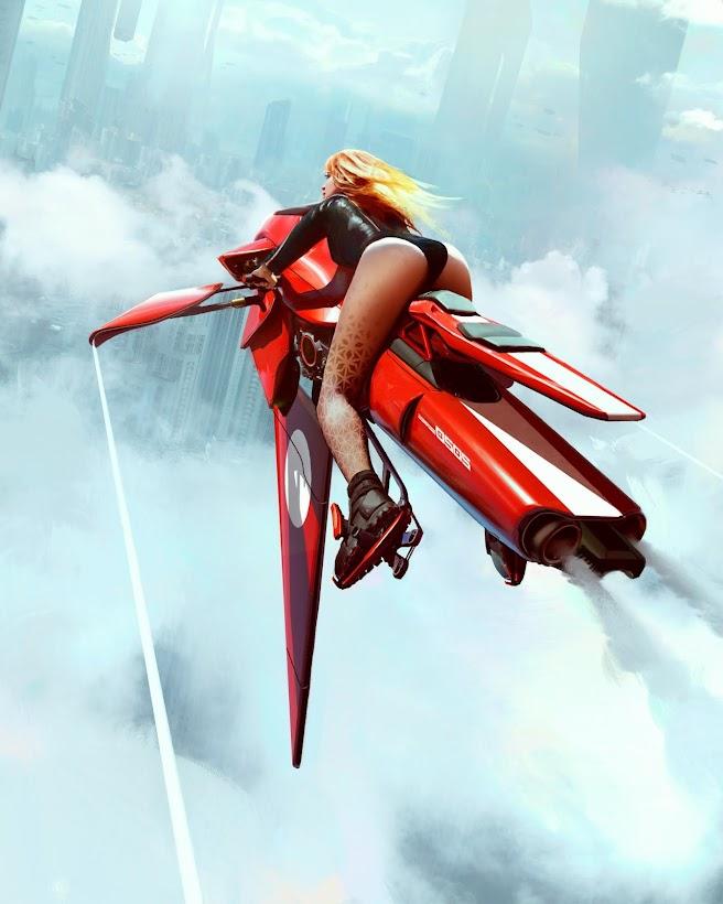 Speeder Girl by WojtekFus on DeviantArt