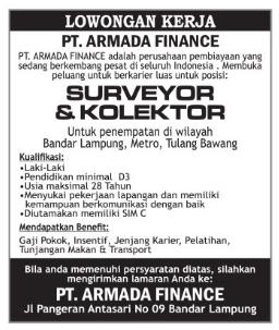 PT. Armada Finance