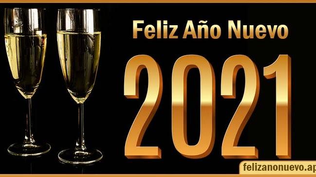 Feliz Año Nuevo 2021 Tarjetas para saludar y enviar por WhatsApp Felices fiestas