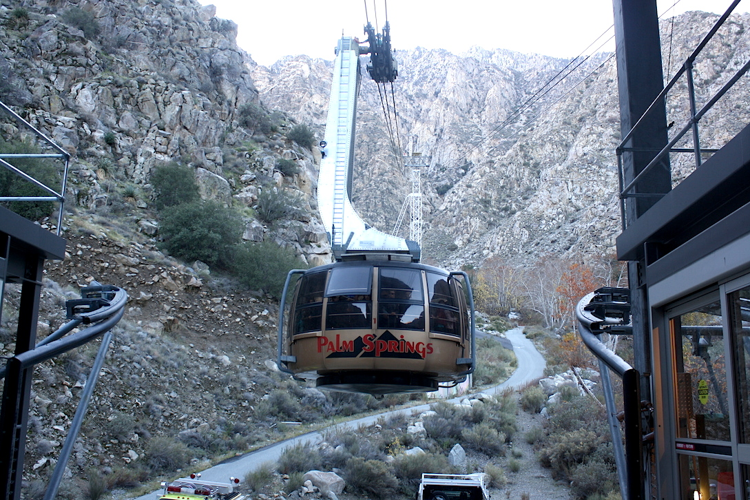 Palm Springs Tram World S Largest Rotating Tram Car Any