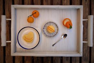 Foto Presentazione budino senza uova agli agrumi per bambini