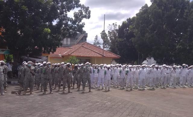Polisi Bubarkan Apel Akbar Sambut Habib Rizieq di Serang Banten