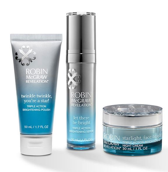 robin McGraw revelation brightening trio