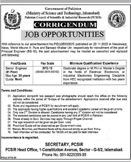 ministry-of-science-technology-most-islamabad-jobs-2020