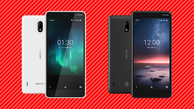 Nokia Announced Nokia 3.1 A, Nokia 3.1 C For AT &T and Cricket