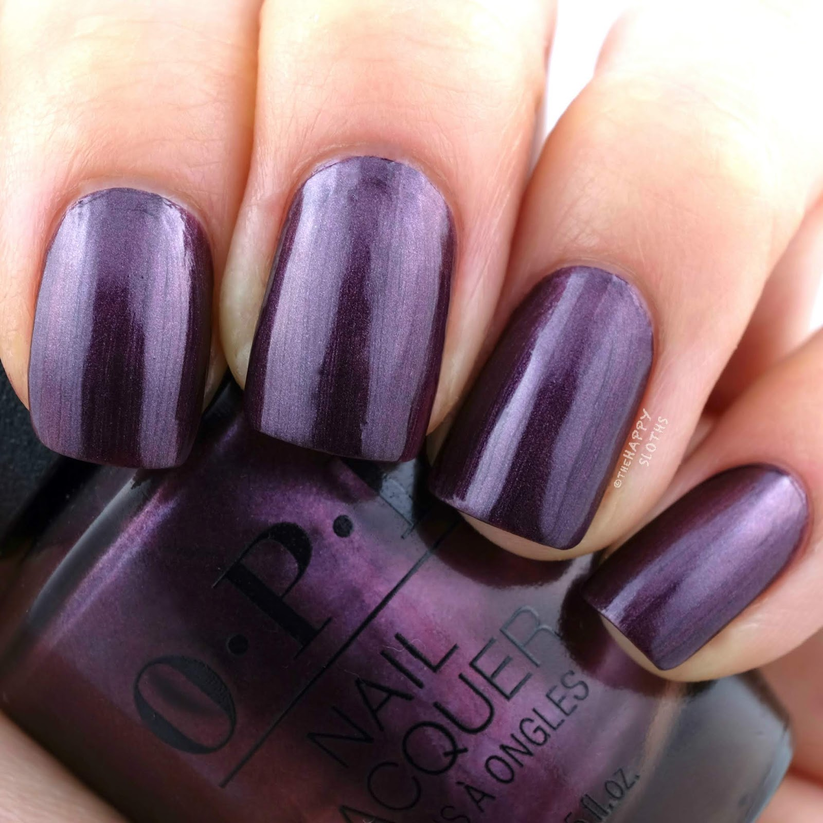 OPI | Fall 2019 Scotland Collection | Boys Be Thistle-ing at Me: Review and Swatches