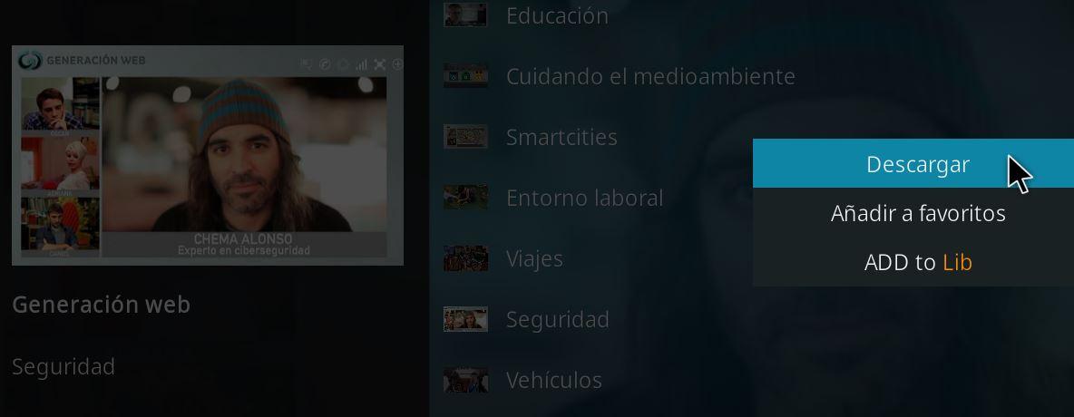 descargar contenido RTVE