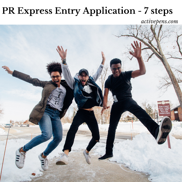 Canadian express entry - 7 simple steps to application