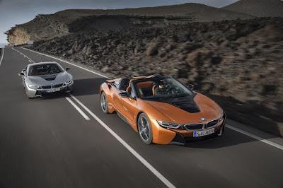 Nouvelle BMW Série i8 2019, caractéristiques, prix, photos