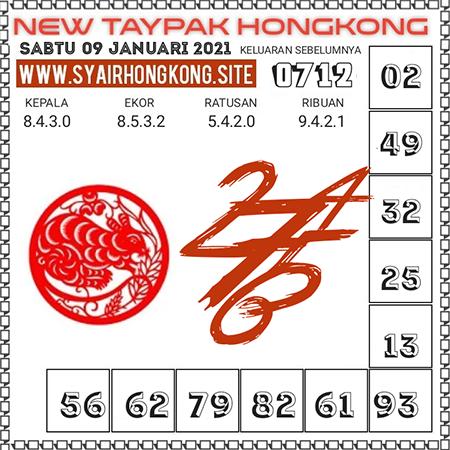 Prediksi Togel New Taypak Hongkong Sabtu 09 Januari 2021