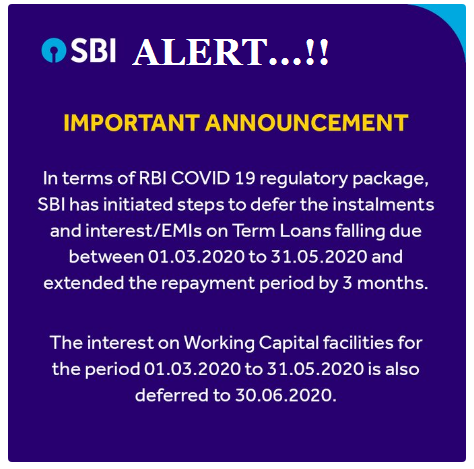 Impact of Corona Moratorium Loan EMI Postponement - Get Complete Details Here SBI Alert! SBI Bank announces 3-month EMI moratorium. Check how it impacts your loan/2020/04/impact-of-corona-moratorium-loan-emi-postponement-sbi-availment-forms-download.html