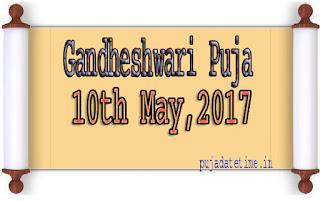 Gandheshwari Puja Date