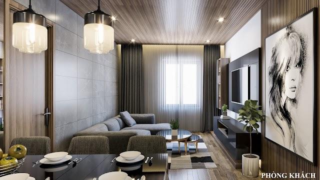 Nội thất căn hộ bình tân siêu sang kèm model 3d full