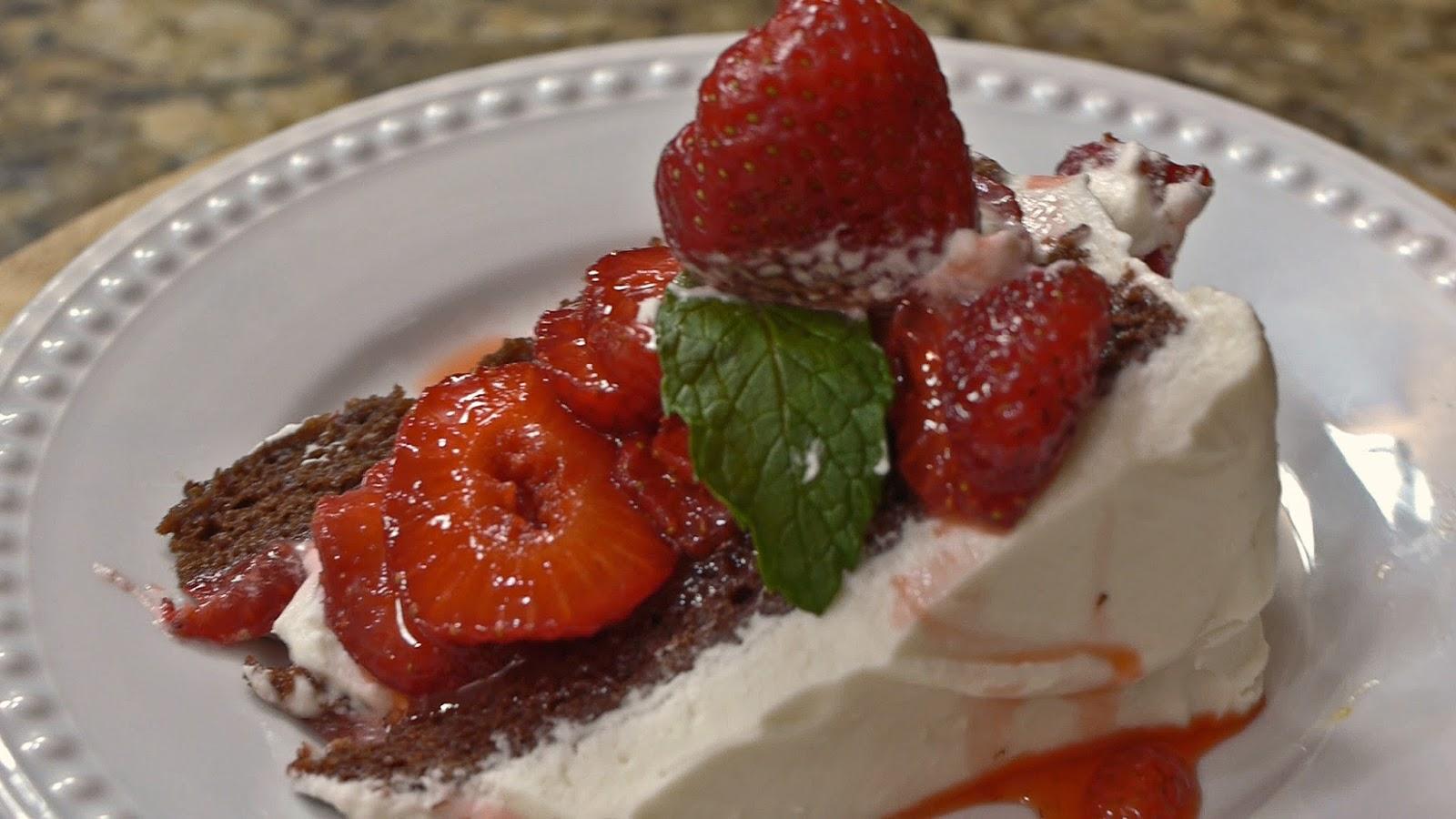 Strawberry Wacky Cake