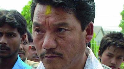 Bimal Gurung sad