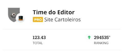 Time do Editor #3 - Cartola FC 2020