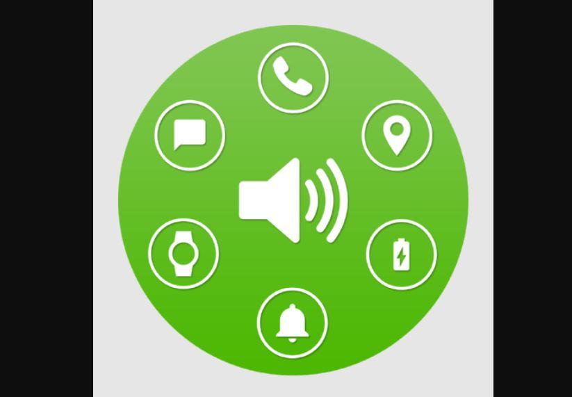 logo aplikasi notification reader shouter