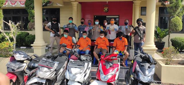 Dua Pelaku Curat Di Gulung Tim Comodo Polres Ogan Ilir