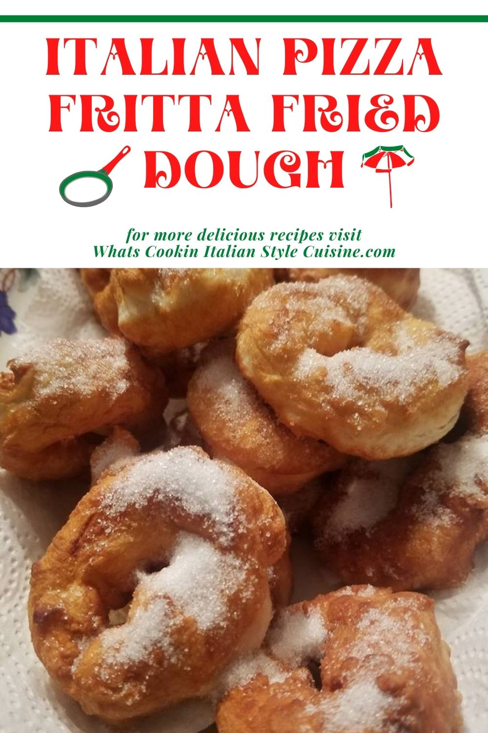 this is a pin for later how to make fried italian pizza dough