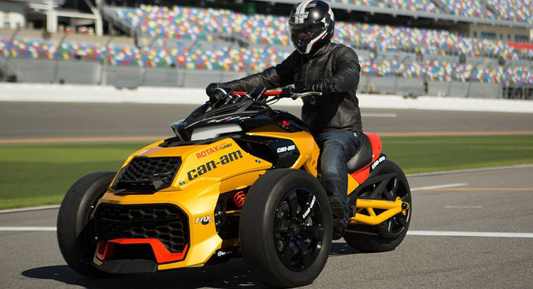can am unveils 150hp spyder f3 turbo concept w video. Black Bedroom Furniture Sets. Home Design Ideas