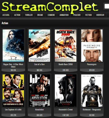 Les meilleurs sites streaming pour regarder des films gratuits pour 2017