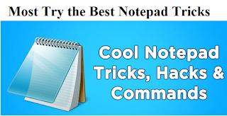Notepad Tricks