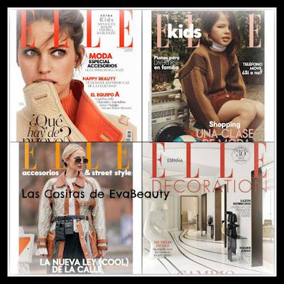 Revista Elle y regalos octubre 2019