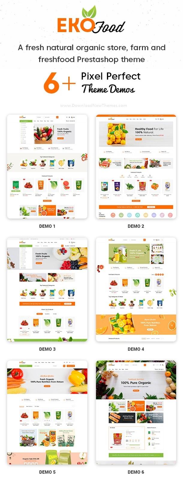 Ekofood - Organic Food Store Theme