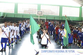 Cerca de 200 atletas participam do X Intercâmbio de Futsal em Itapiúna
