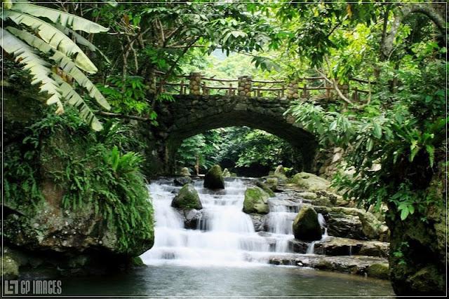 thác tam cấp - tour du lịch thiên sơn suối ngà