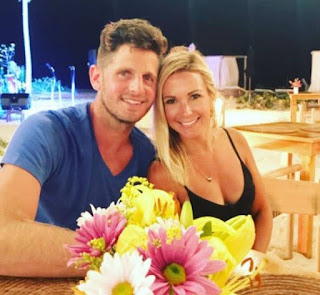 Tiffany Orlovsky with her husband Dan Orlovsky