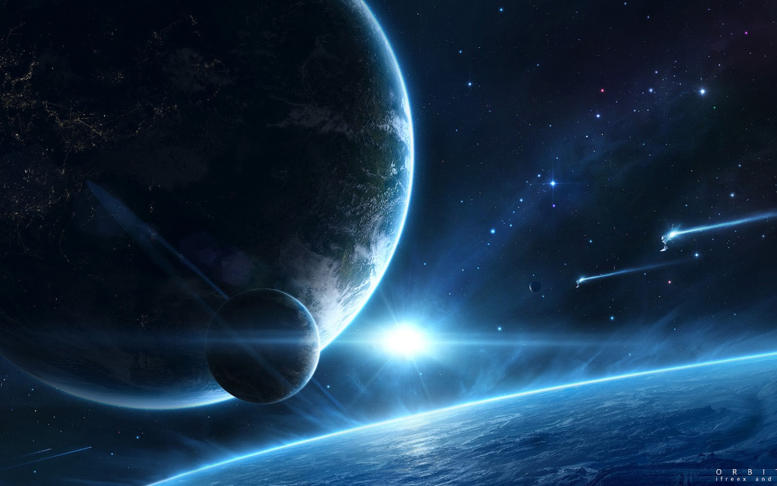 Free High-Definition Wallpapers: Free Space Galaxy Desktop Background Wallpaper