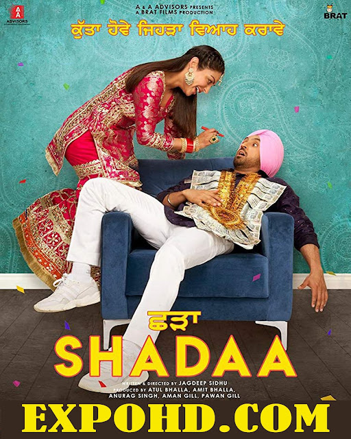 Shadaa 2019 Full Movie Download HD 720p | 1080p | HDRip x265 ACC 1.2GB