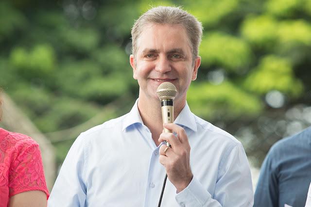 Ulisses Maia, prefeito de Maringá – Foto: Vivan Silva/Arquivo/PMM