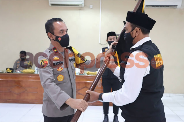 Polda Aceh Kukuhkan Pengurus Kelompok Sadar Kamtibmas Provinsi Aceh