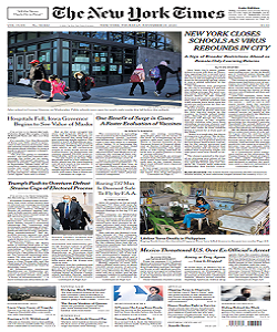 The New York Times Magazine 19 November 2020 | The New York News | Free PDF Download