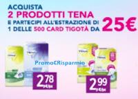 Logo Con Tena ''Compra e vinci'' 1 delle 500 card Tigotà da 25€
